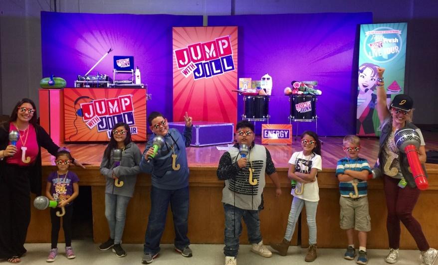 Jump With Jill Tour