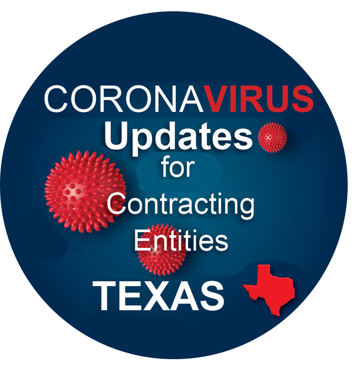 Coronavirus Updates for Contracting Entities in Texas