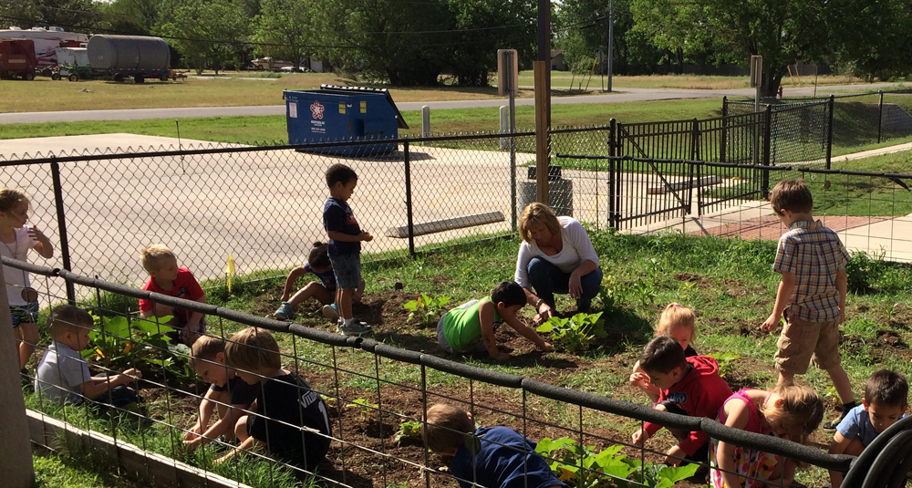 Little Sheep Learning Center In Bastrop Partners With