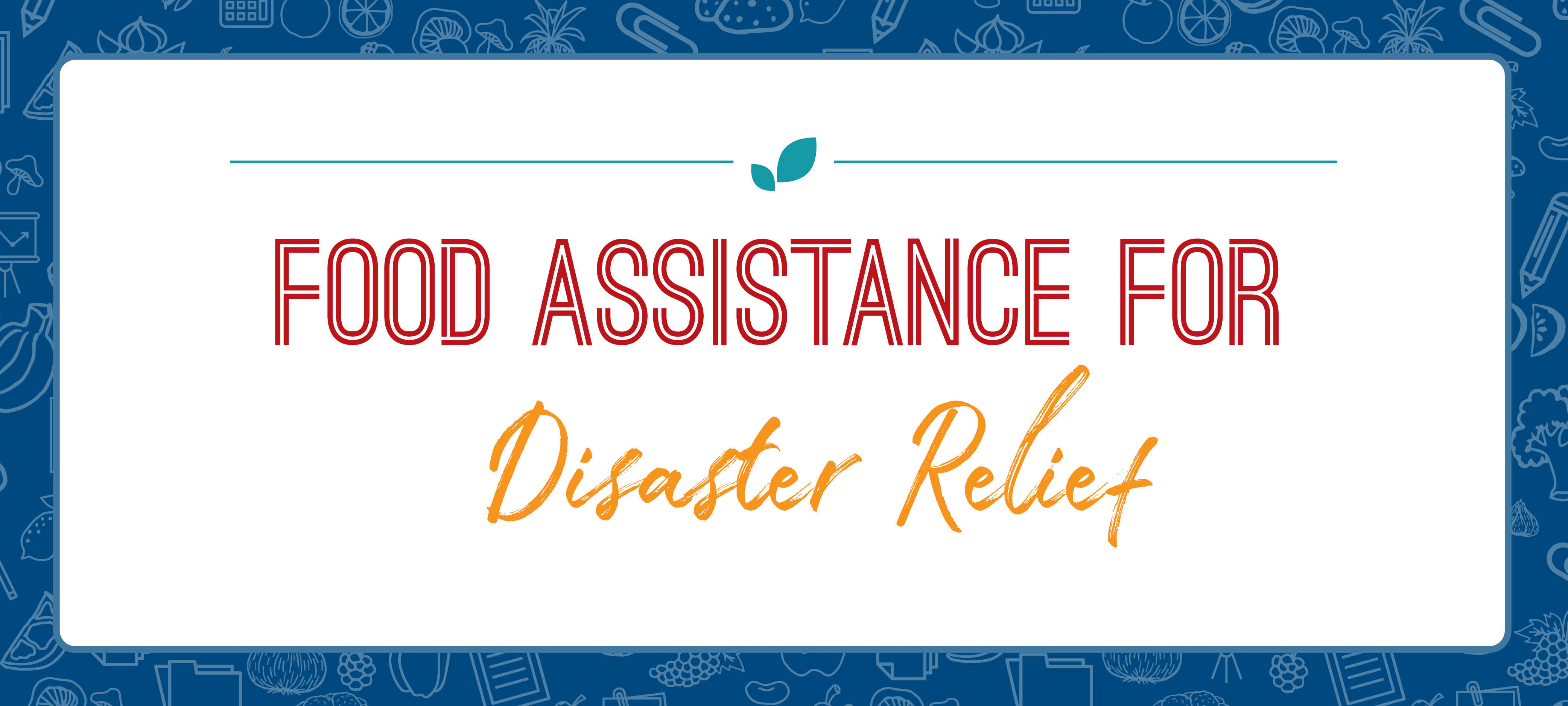 Food Assistance for Disaster Relief