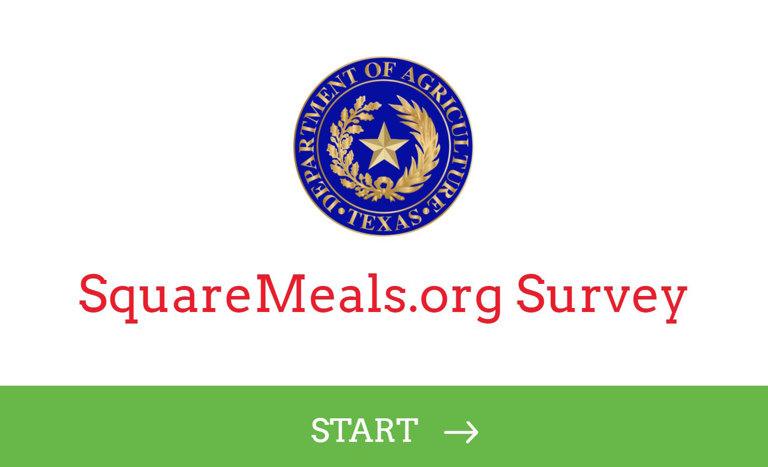 SquareMeals.org Survey