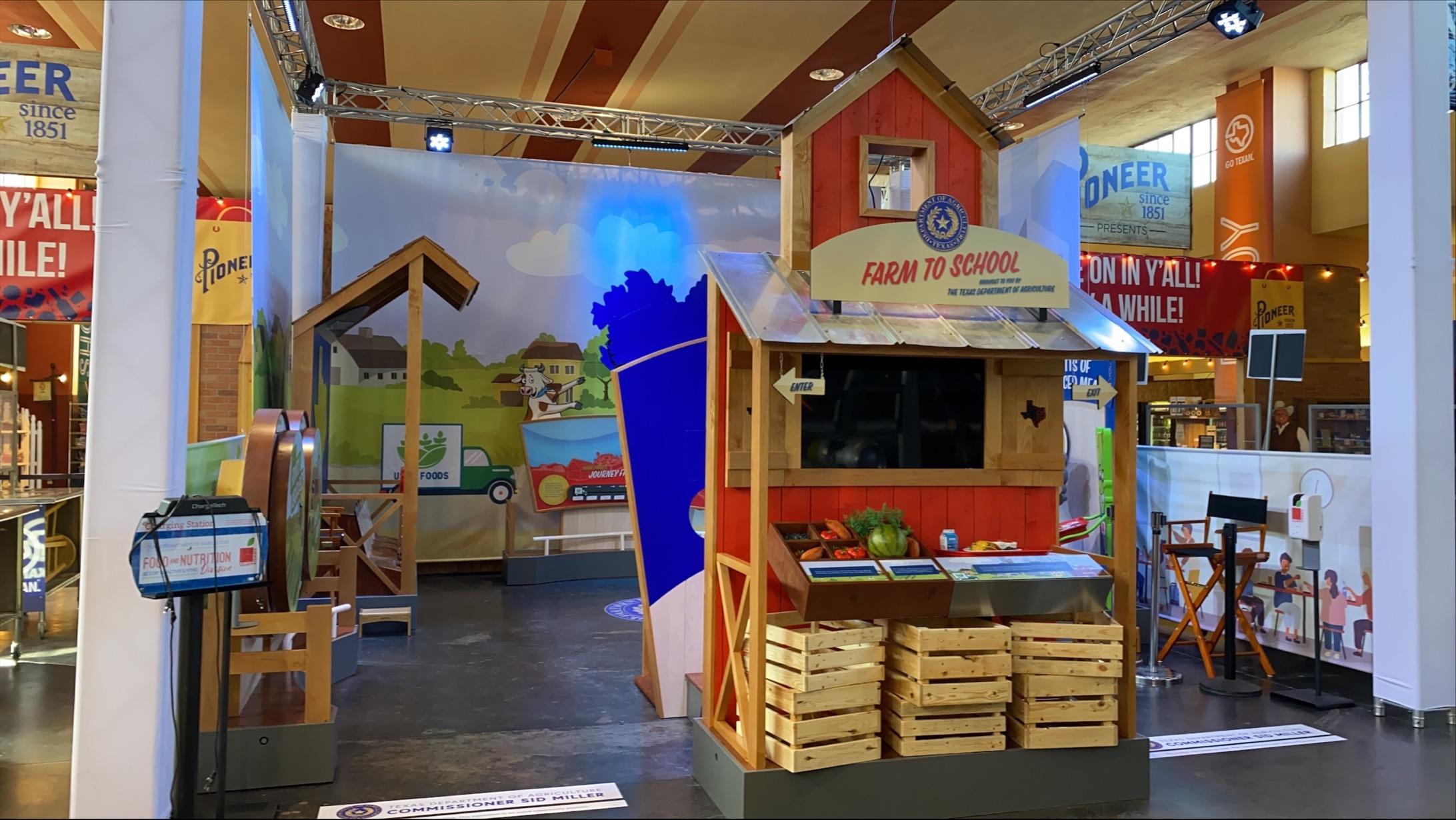TDA State Fair Booth