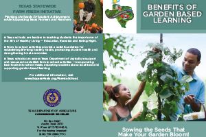 Benefits of Garden Based Learning