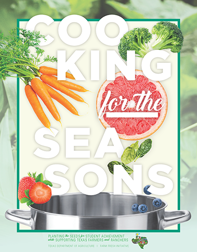 Click for the Cooking for the Seasons Cookbook