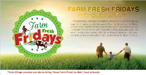 Farm Fresh Fridays Flyer