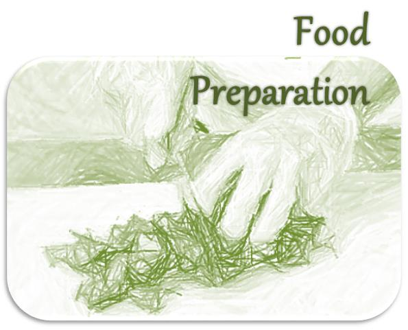 Food preparation button for  CACFP boost meal appeal