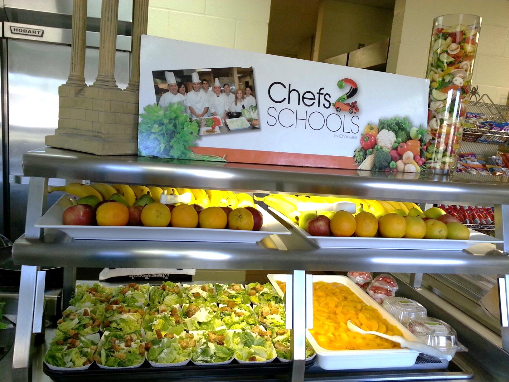 Chefs move to schools picture