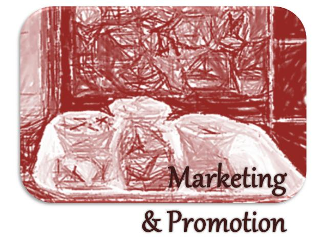 Marketing and Promotion Button
