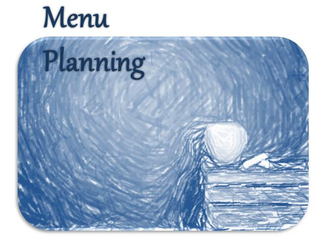 Meal Planning Button