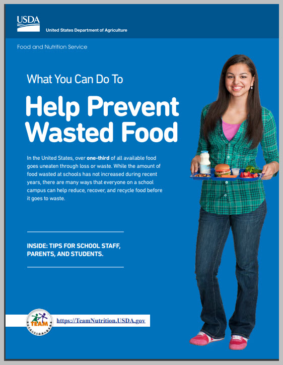 Wasted Food Booklet from USDA